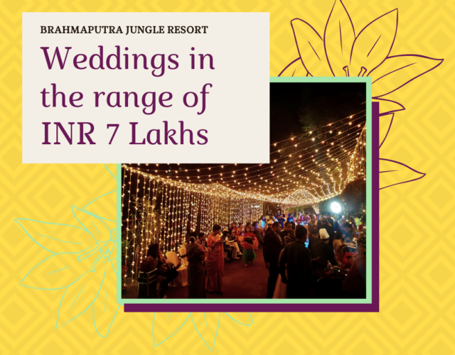 Book Your Wedding At Brahmaputra J